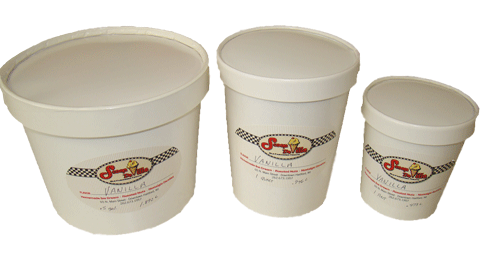 Ice Cream To Go (Pints/Quarts/Half Gallon)