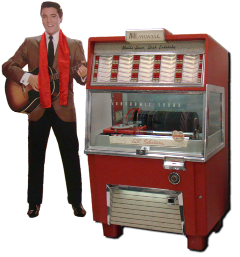 Elvis with Jukebox